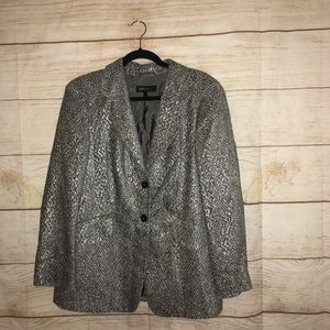 Escada size 44 gray gorgeous jacket